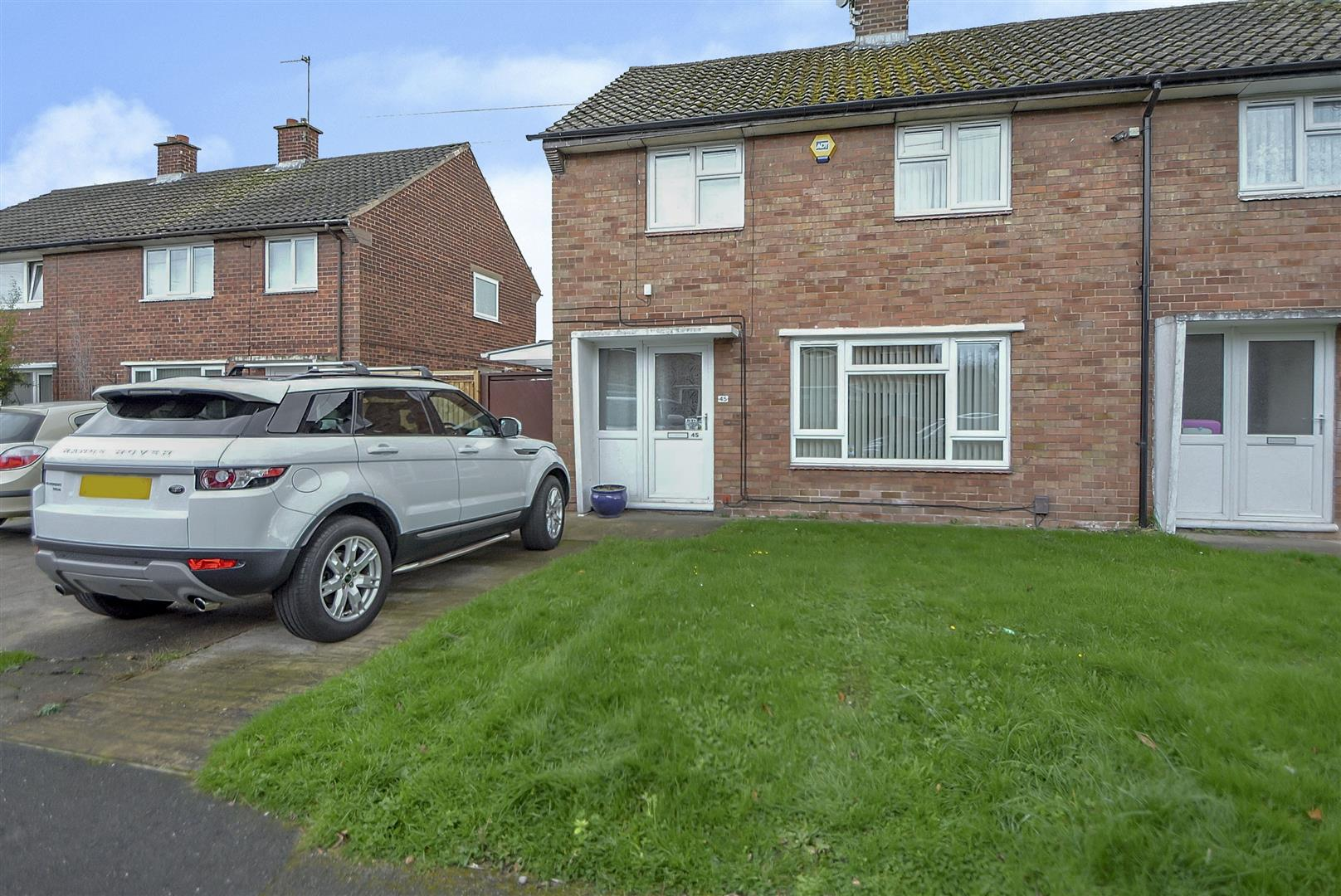 2 Bedrooms End Of Terrace House for sale in Baslow Close, Sawley